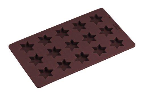 Lurch 65023 Flexi Form Zimtsterne 17 x 30 cm, karminrot