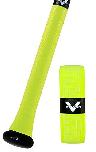 Vulcan Schlägergriff, Damen Mädchen Jungen Herren, V050-YEL, Optic Yellow, Vulcan 0.50mm Bat Grip