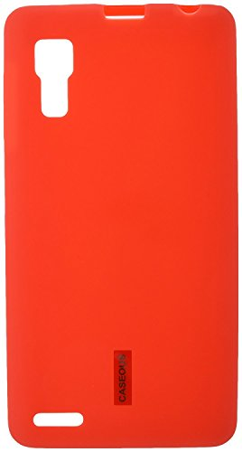 CASEOUS™ Back Case Cover for Lenovo P780 (Red)  available at amazon for Rs.99