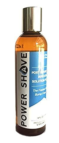 Power Shave Post Shaving Treatment Gel for Razor Bumps Red Rash Ingrowing Hairs by Priva