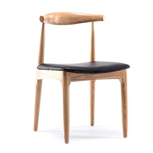 Chaise de Salon en Bois Massif Chaise d'ordinateur créatif Chaise Minimaliste Moderne étude Maison Maquillage Tabouret Dossier à Manger Chaise Chaise en Bois Massif Chaise Design Chaise