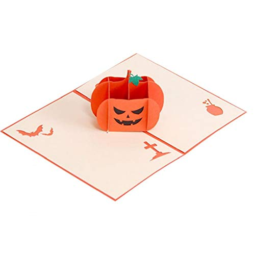Grußkarten Geschenke Halloween-Karte 3D Pop Up CardsWitches Kürbis-Karte