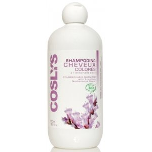 Coslys Shampooing Cheveux Colorés à l'Extrait d'Immortelle Bleue 500 ml