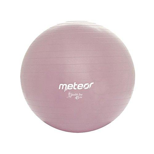 meteor-fitness-ball-45-cm-mit-pumpe-glitzernd-lila