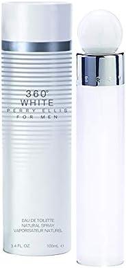 Perry Ellis 360 White by Perry Ellis for Men 100ml Eau de Toilette Spray 100ml