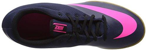 Nike Mercurialx Pro Ic, Chaussures de Foot Homme Bleu (Midnight Navy/midnight Navy-pink Blast)