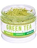 Grün Tee Detox Face Scrub von teami | 100% Bio Gesichts-Scrubs | Peeling befeuchtet alle Hauttypen Feuchtigkeit | mit Zitronengras für Hautunreinheiten & Mitesser und die besten Peeling Zucker.