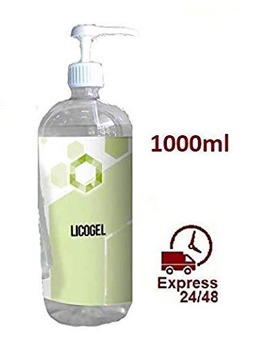 Gel hidroalcoholico de Manos Profesional higienizante y desinfectante 1000 ml (1 Unidad)