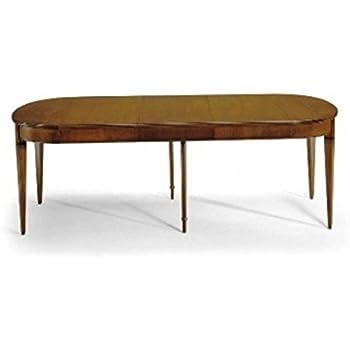 Esteamobili Table Ovale Merisier Extensible Bois Massif Comme