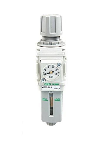 CKD W1000 Luftfilter Wasserabscheider + Manometer 1/4