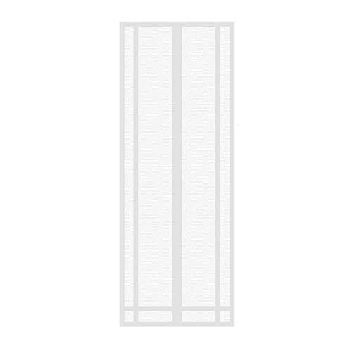 Tenda zanzariera magnetica per porta,gwcleo dimensioni 100 x 210cm per porta con calamita moschiera,anti insetti mosche zanzare, per porta con calamita moschiera per porte di soggiorno camera da letto casa
