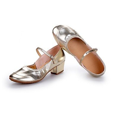 Wuyulunbi @ Talon De Jonction Extérieure Des Femmes Chunky Heel Argent Or Noi6.5-7 / Eu37 / Uk4.5-5 / Cn37