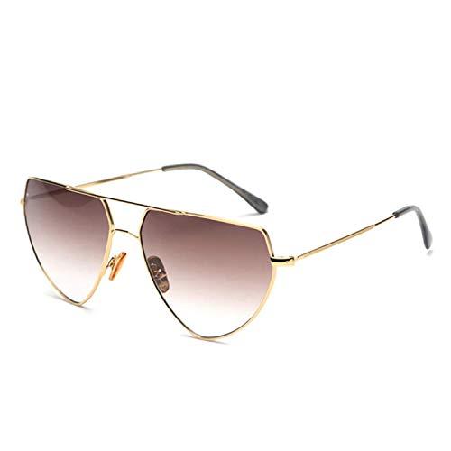 Klassische Sportsonnenbrille, Fashion Woman Flat Top Small Sun Glasses Semi-Rimless Cat Eye Sunglasses K9968