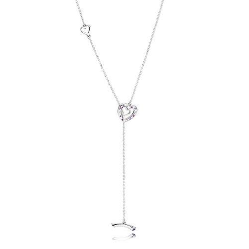 Pandora parure di gioielli donna argento - 397756nrpmx-55