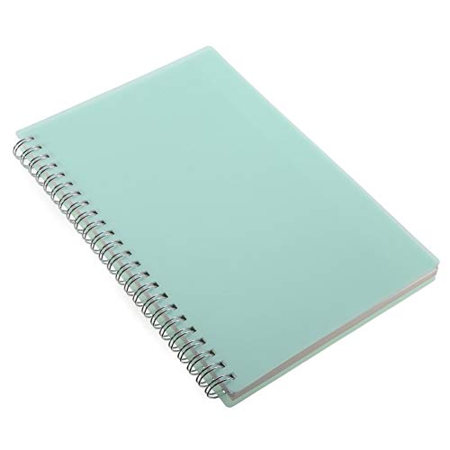 ZXSH Notizbuch Niedliche Pp Hardcover Notebook Gebändert Dot Grid Spiral A5 Notebook Briefpapier Tagebuch Memos Für Studenten, A
