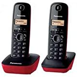 Panasonic KX-TG1612 - Teléfono fijo inalámbrico...