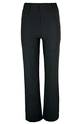 Donna (Confezione da 2) Nurse lavoro Carer elastico Bootleg Pantaloni