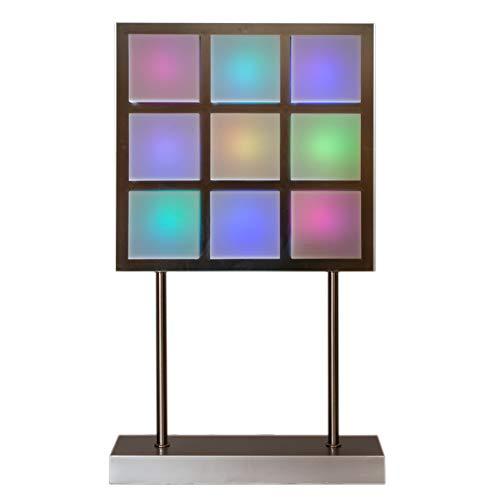 (70er Jahre LED Design Leuchte mit Farbwechsel, 49 cm, Tischleuchte Leuchte Lampe …)