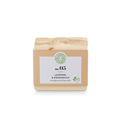Bio cara Jabón-Lavanda leche-naturales Limpieza