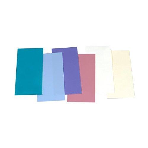 Wachsplatten / Verzierwachs Sortiment 'Pastell' (6 Bögen / 175 x 80 x 0,5 mm) TOP QUALITÄT