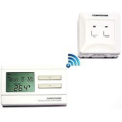 Computherm Q7RF -Control remoto termostato programable - ahorrar energía, ahorrar costes