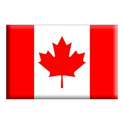 Country National Flag 5ft x 3ft - Canada Test
