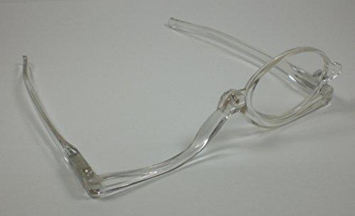 Transparente Damen Schminkbrille Lesebrille praktische Schminkhilfe 1,5 - 4,0 Diop. 1,5 Dioptrien