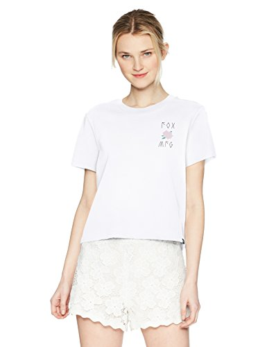 Fox Damen Rosey Crop Knit TOP Hemd, weiß, Klein -