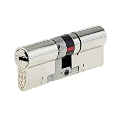 Yale Platinum 3 Star Euro Profile Cylinder PYS35050N (45/10/45-100mm) Nickle