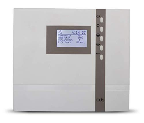 EOS Design Sauna Steuerung Steuergerät Econ D2 mit Zeitvorwahl in Weiß MADE IN GERMANY