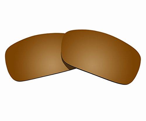 Sunnyblue2 Braun polarisierte Ersatz Gläser für Oakley Fuel Cell Sonnenbrille