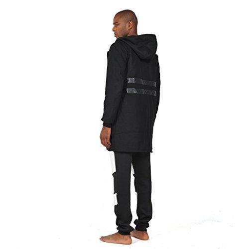 Pizoff Herren Hip Hop High Street Fashion Lang geschnittenes Trägershirt Y1188