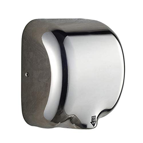 Mini Baño, Secador Manos, Soporte Pared, Acero Inoxidable