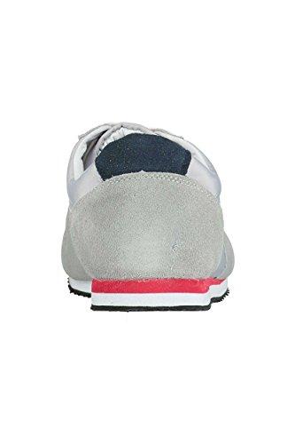 Scarpe basse da uomo, motivo: discoteca Redskins, colore: grigio Grigio (grigio)
