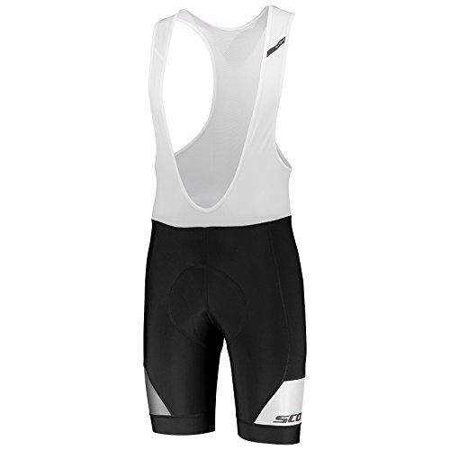 Scott RC Premium ++++ Fahrrad Trägerhose kurz schwarz/weiß 2018: Größe: L (50/52) (Premium Shorts Bib)