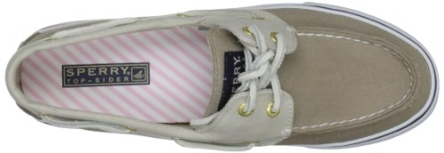 Sperry Top-Sider  Bahama 2-eye, Chaussures À lacets femme Marron - Stone/Light Pink