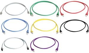 Preisvergleich Produktbild Telegärtner MP8 FS 600 - Patch-Kabel - RJ-45 (M) bis RJ-45 (M) - 5 m - SFTP - CAT 7