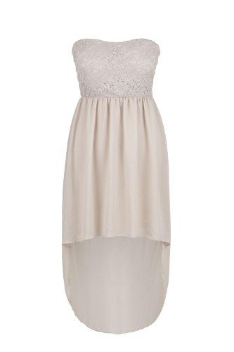 Apparel Outlet - Robe de soirée élégante - Femme beige simple
