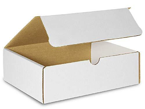 Amiff Versandtaschen aus Wellpappe, 11,5 x 21,6 cm, 2 Stück 5 Stück Versandkartons Leicht zusammenklappbar. Für bedruckte Materialien und Bücher. Verpacken, Versenden und Aufbewahren
