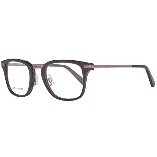 Dsquared2 Herren Brille DQ5137 001 49 Brillengestelle, Schwarz,