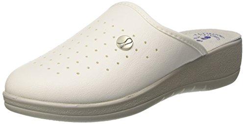 Inblu tosca, scarpe da lavoro donna, bianco, 35 eu