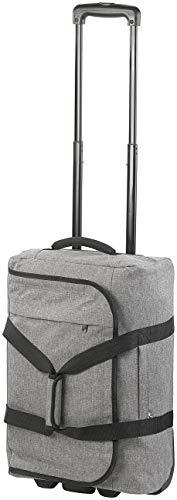 Xcase Trolley-Koffer: Faltbarer 2in1-Handgepäck-Trolley und Reisetasche, 44 Liter, 2 kg (Koffer leicht)