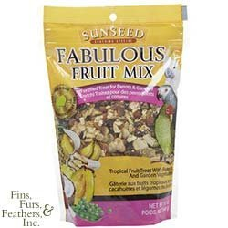 Fabulous Fruit Mix For Parrots & Conures by Sun Seed (Parrot Conure Sun)