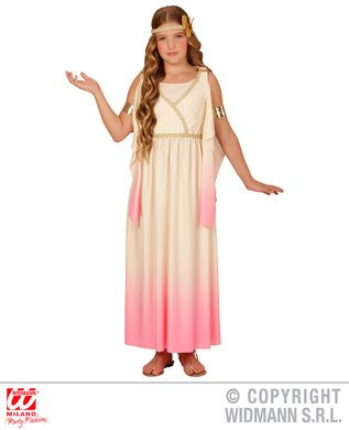 Imagen de disfraz de griega dulce para niña  5 7 años alternativa