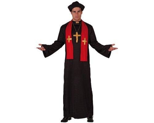 Imagen de atosa  disfraz de cura para hombre, talla m/l 70388