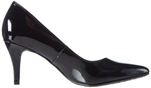 Tamaris22447 - Scarpe con Tacco Donna Nero (Nero (Black Patent 018))