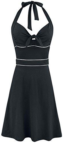 Vive Maria Big Sea Holderneck Kleid schwarz Schwarz