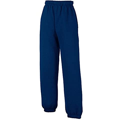 Fruit of the Loom Jungen Hose Gr. 12-13 Jahre, navy