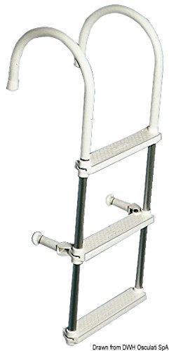Osculati 49.529.03 - Alloy bording ladder 3 steps Test