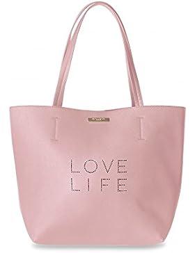 Katie Loxton , Damen Tote-Tasche rosa Blush Pink
